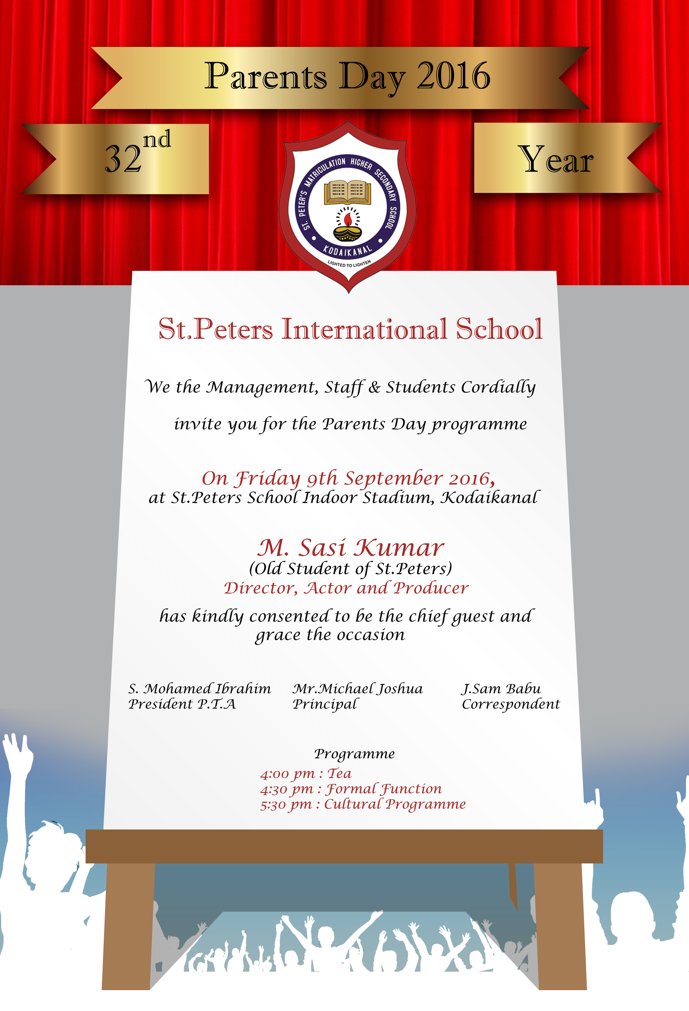 Parents day 2016 invitation st peters international school parents day invite 2016 board8 stopboris Choice Image